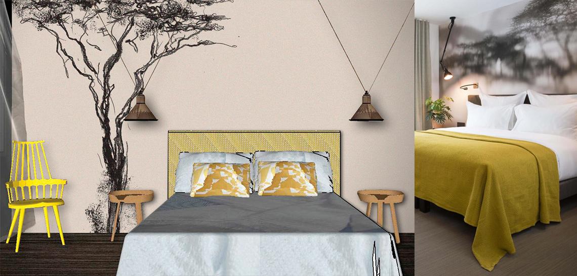 alcali-les-2-girafes-tapisserie