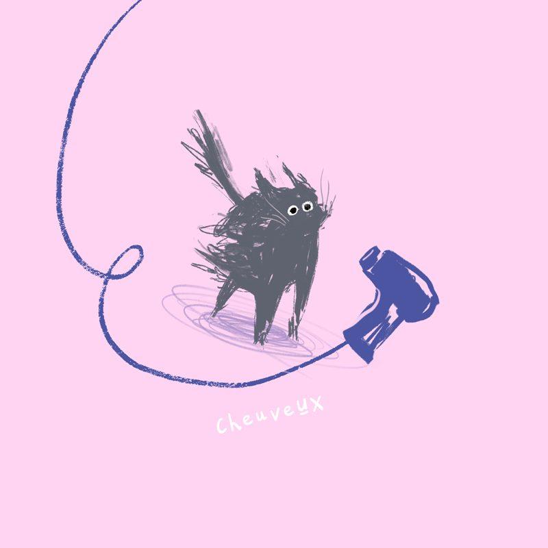 illustration-jolimai-Cheveux-chat-nathaliemineau
